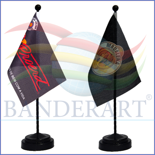 Bandeiras de Mesa Personalizadas
