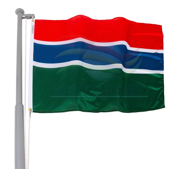 Bandeira da Gâmbia