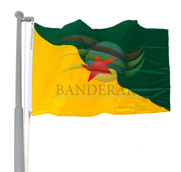 Bandeira da Guiana Francesa