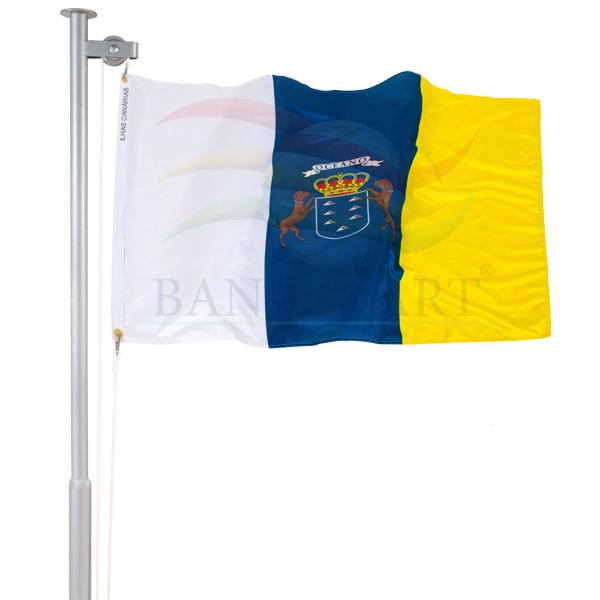 Bandeira das Ilhas Canarias