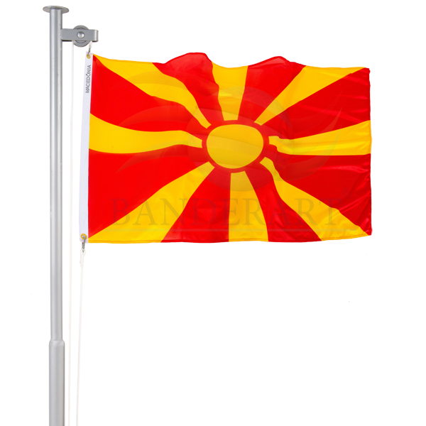 Bandeira da Macedônia do Norte