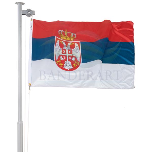 Bandeira Sérvia e Montenegro