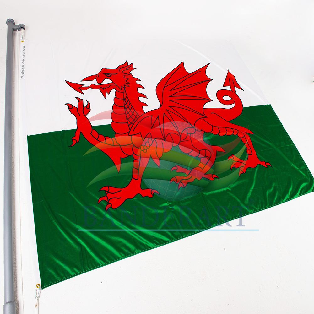 Bandeira Países de Gales - Banderart 581c34a11e9e8