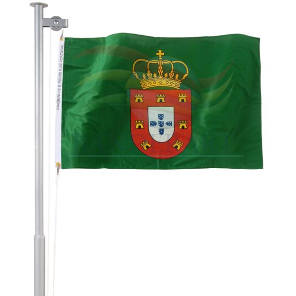 Bandeira de D.Pedro II de Portugal (1683 a 1706)