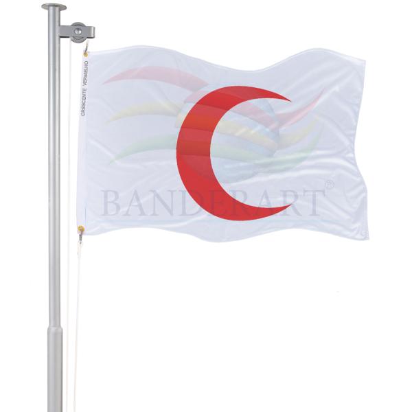 Bandeira Crescente Vermelha
