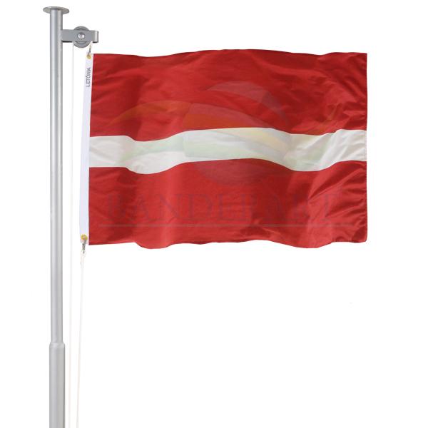 bandeira da letônia banderart