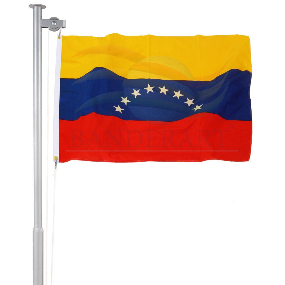 Bandeira da Venezuela (sem brasão)