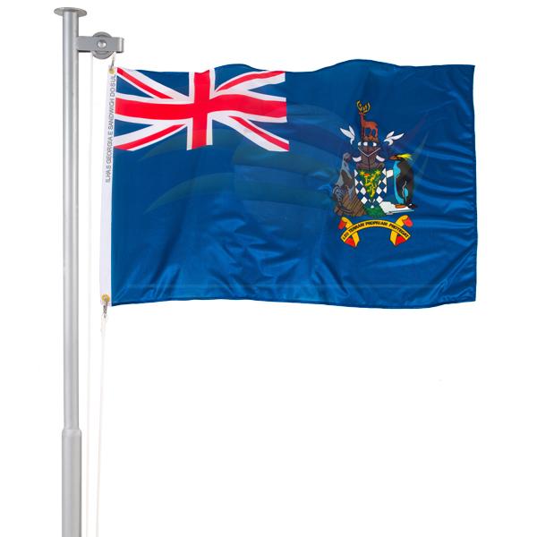 Bandeira das Ilhas Georgia e Sandwich do Sul