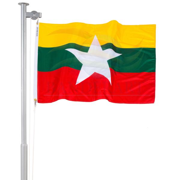 Bandeira do Mianmar