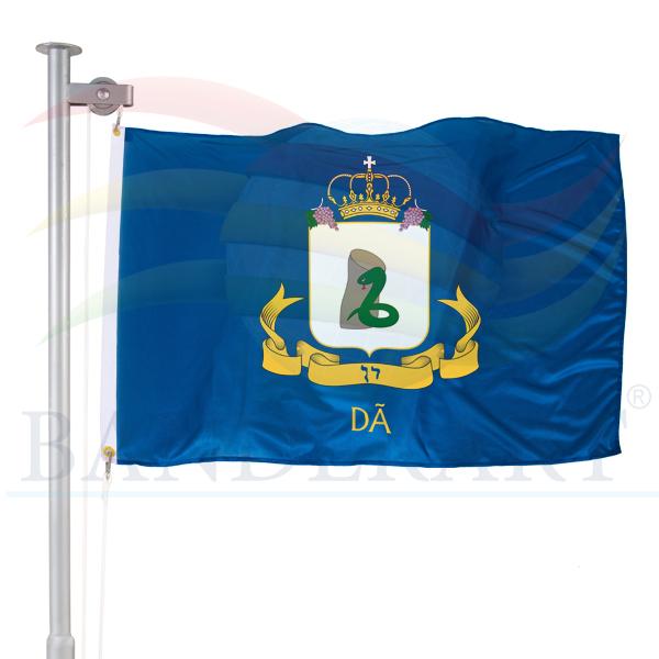 bandeira da tribo de Dã