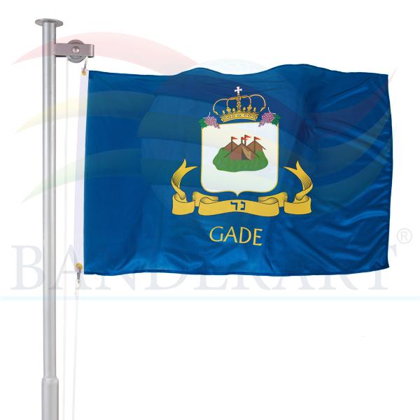 bandeira da tribo de Gade