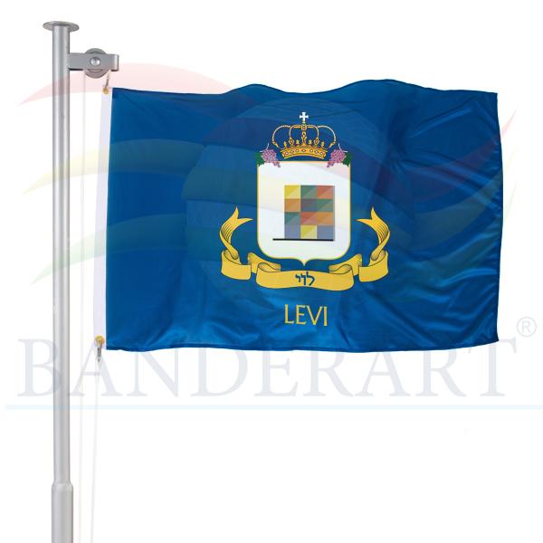bandeira da tribo de Levi