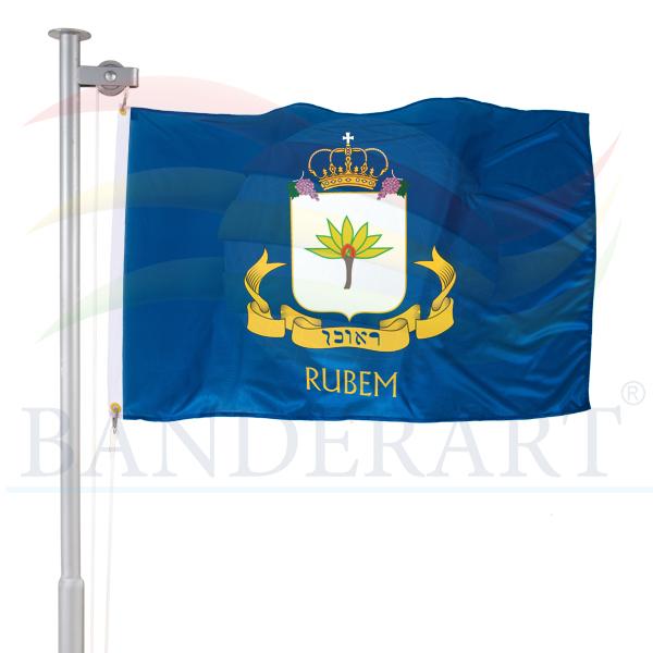Bandeira da tribo de Rubem