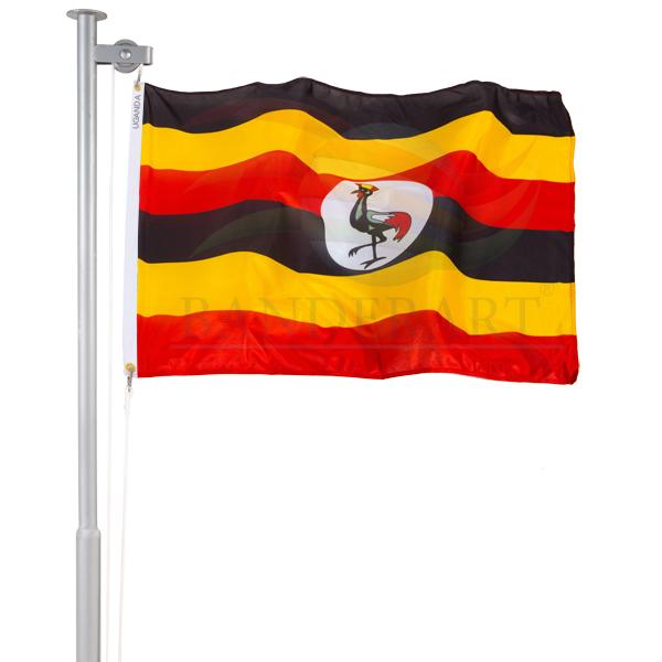 Bandeira da Uganda