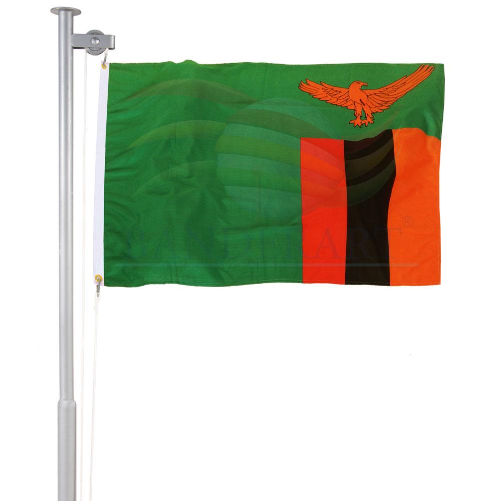 Bandeira de Zâmbia