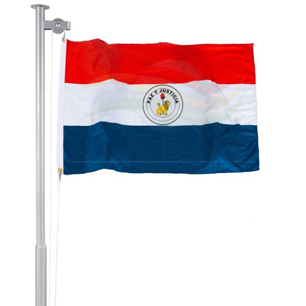 Bandeira do Paraguai (verso)
