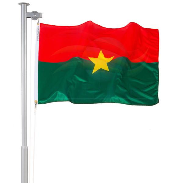 Bandeira de Burkina Faso