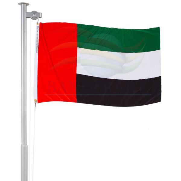 Bandeira dos Emirados Arabes Unidos