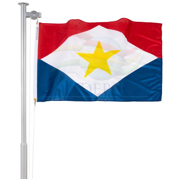 Bandeira da Ilha do Sabá