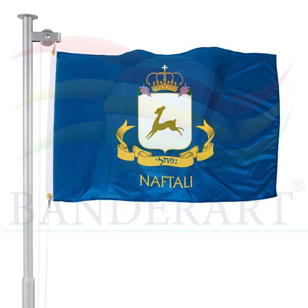 bandeira da tribo de Naftali